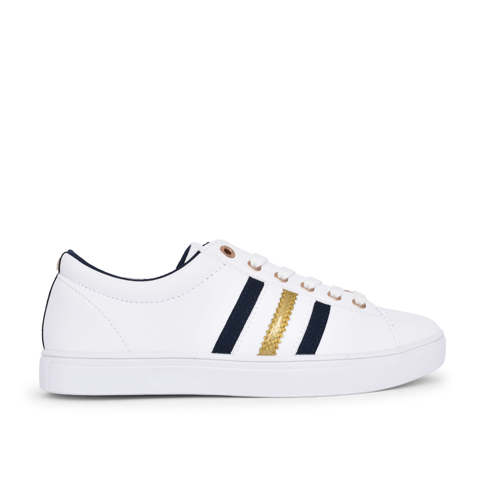 LADIES LIMBERT LACE UP SHOE in WHITE
