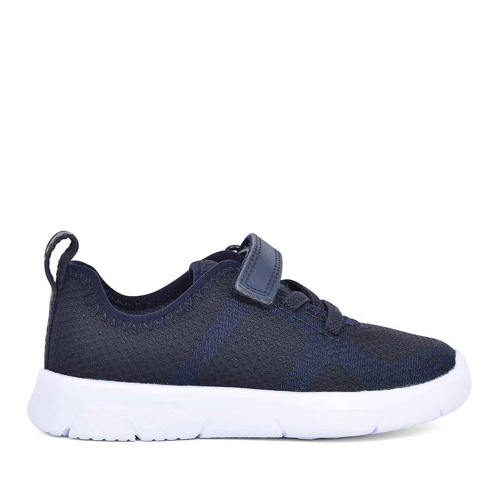 BOYS TODDLER ATH FLUX NAVY TEXTILE TRAINER in KIDS F FIT