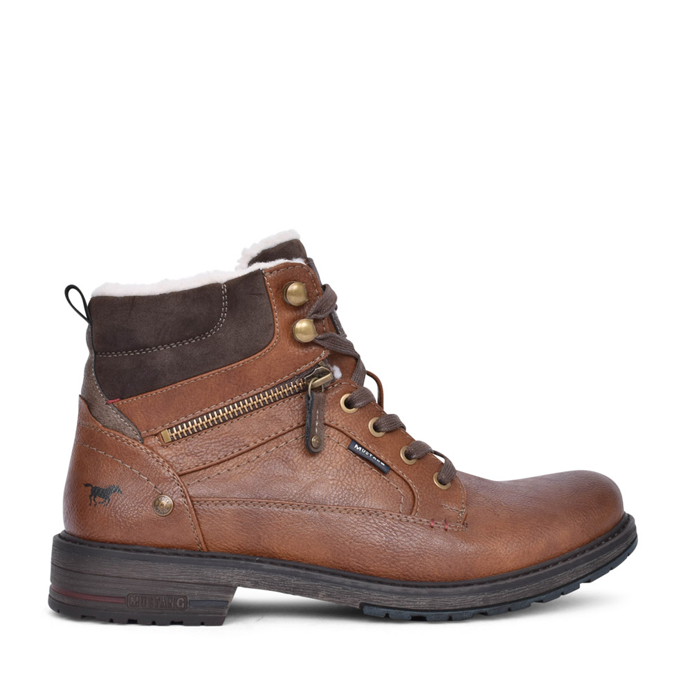MENS 4157603 ANKLE BOOT in TAN