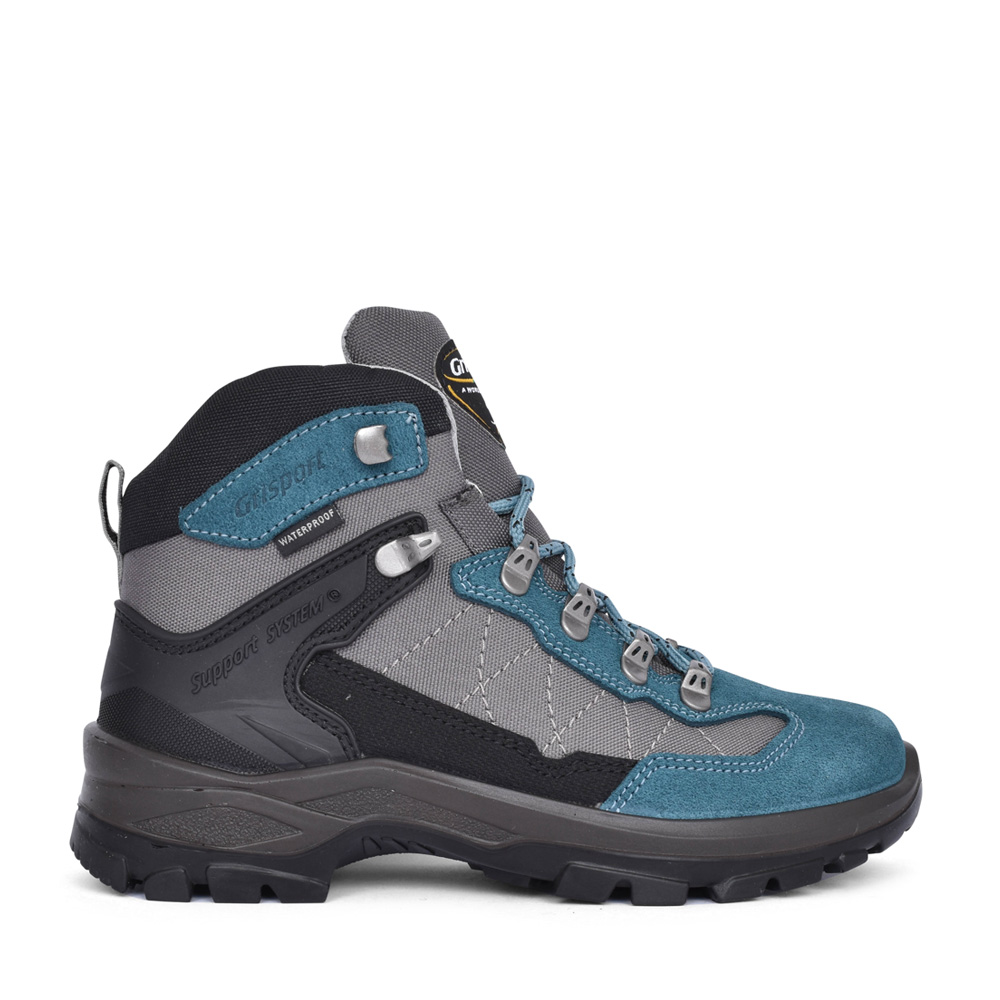 LADIES EXCALIBUR CLG730 LACED WALKING BOOT in BLUE