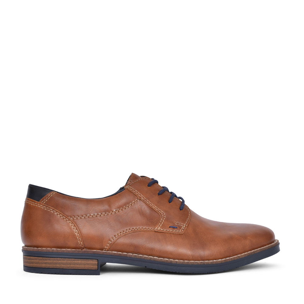 MENS 13500 LACE UP SHOE in TAN