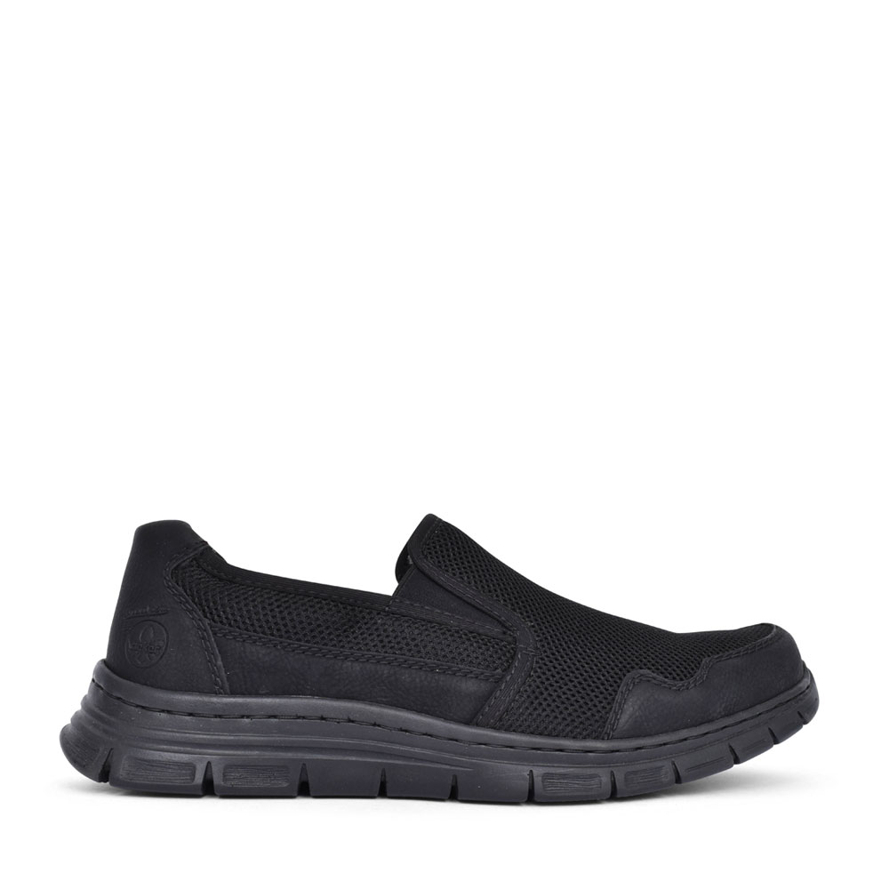 MENS B4862 SLIP ON SHOE in BLACK
