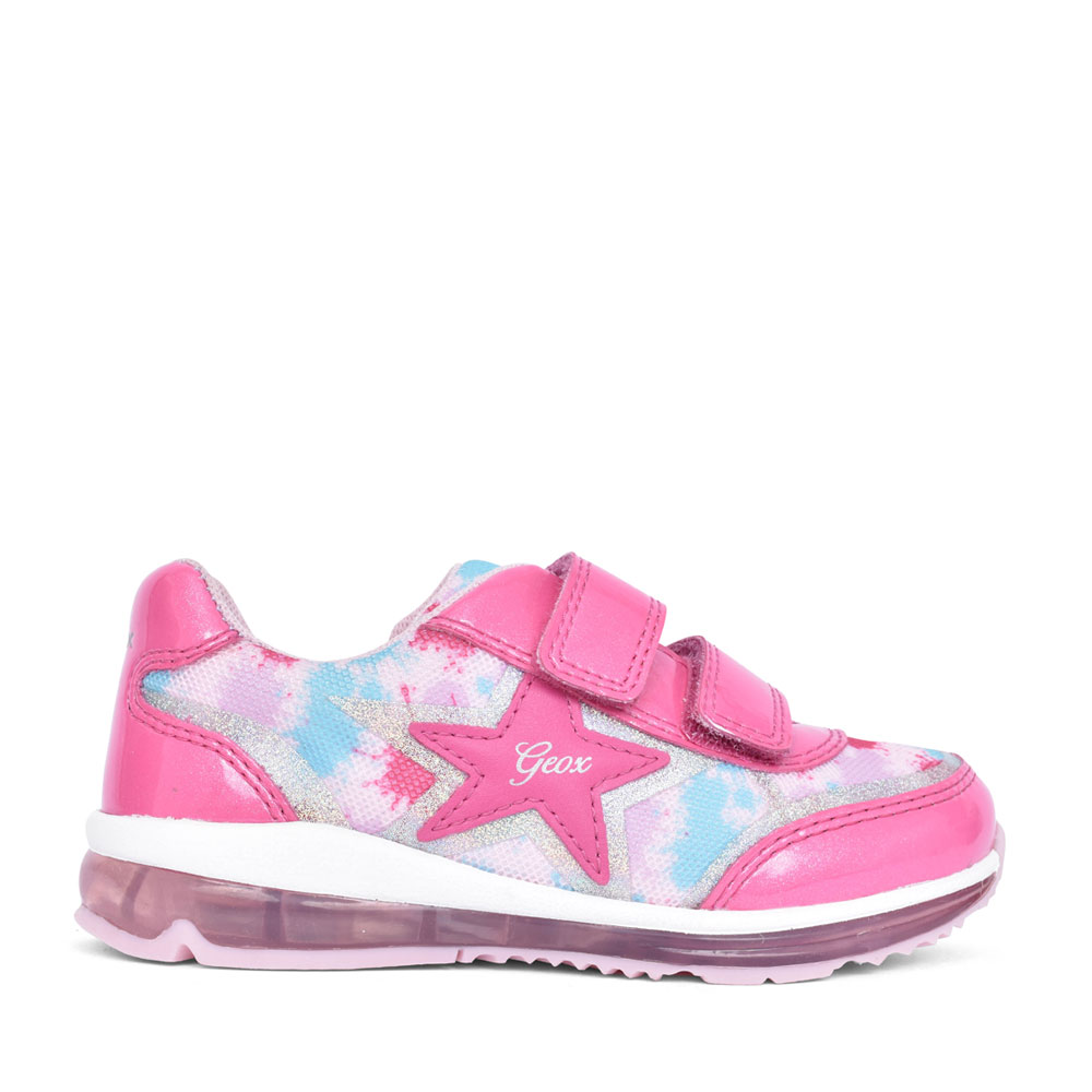GIRLS B1585B TODO VELCRO TRAINER in PINK