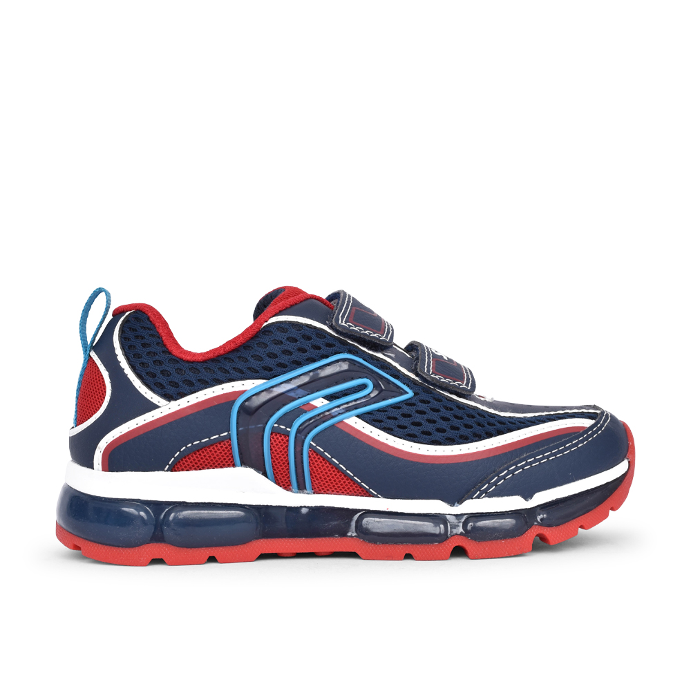 BOYS J0244C ANDROID VELCRO TRAINER in NAVY