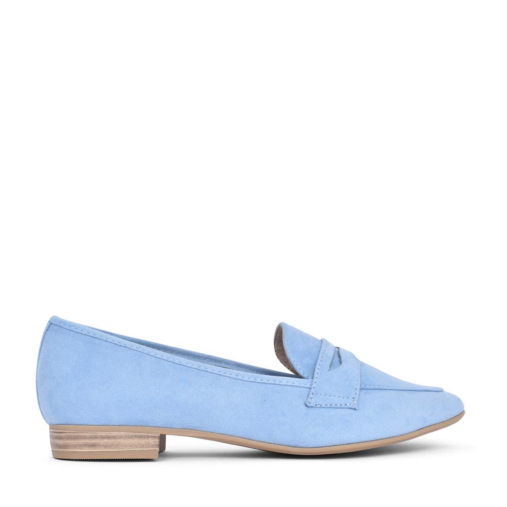 LADIES 2-24204 SLIP ON SHOE in BLUE