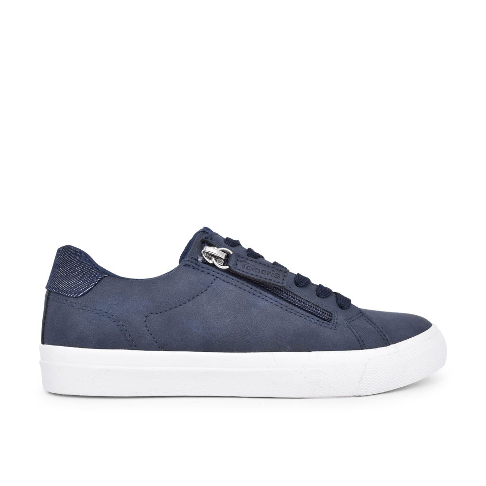 LADIES 1-23610 LACE UP SHOE in NAVY