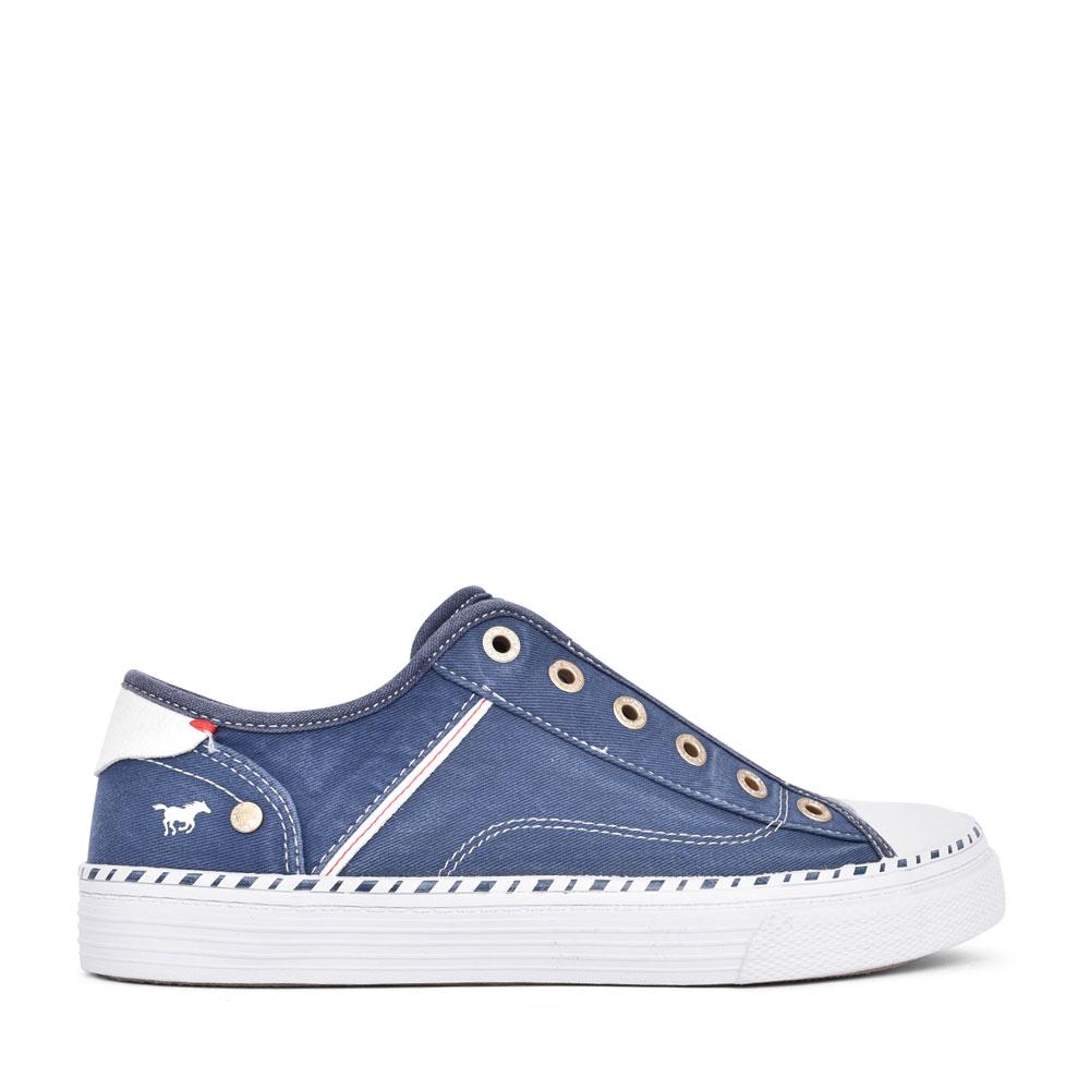 LADIES 1376401 SLIP ON SHOE in BLUE