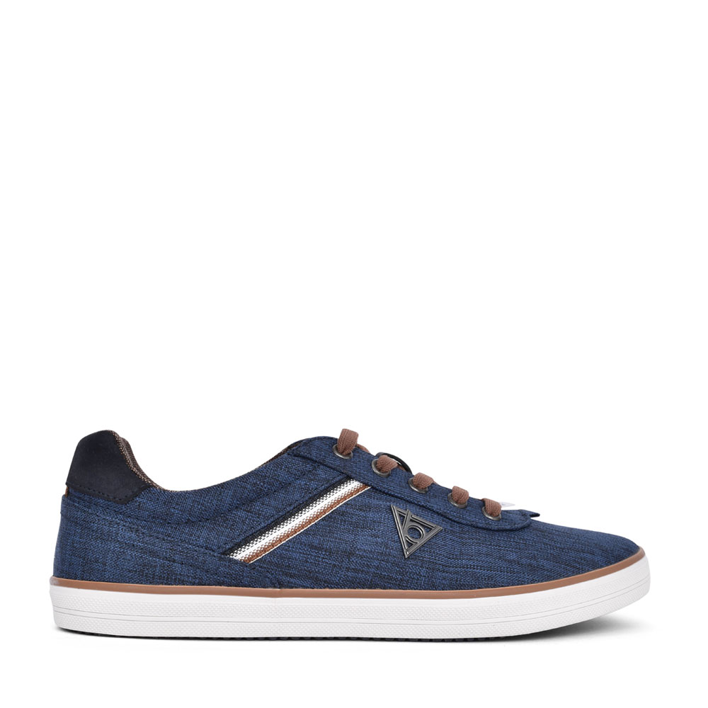 MENS 50210 LACE UP SHOE in DENIM