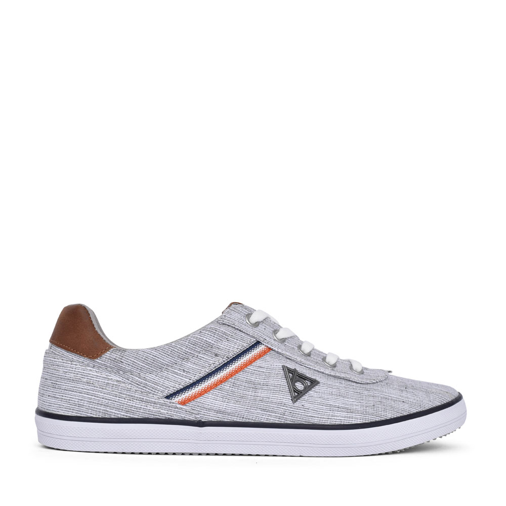 MENS 50210 LACE UP SHOE in LIGHT GREY