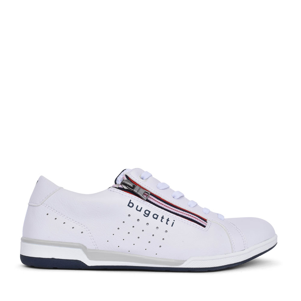 MENS 72607 LACE UP SHOE in WHITE