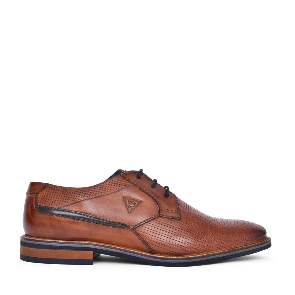MENS 89606 LACE UP SHOE in TAN