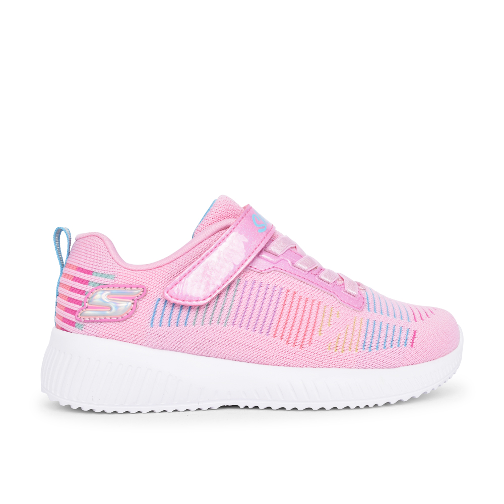 GIRLS 302379L BOBS SQUAD FRESH DELIGHT TRAINER in PINK