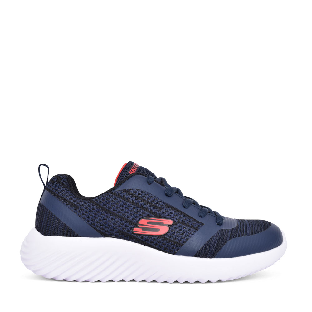 BOYS 98303L BOUNDER LACE UP TRAINER in NAVY