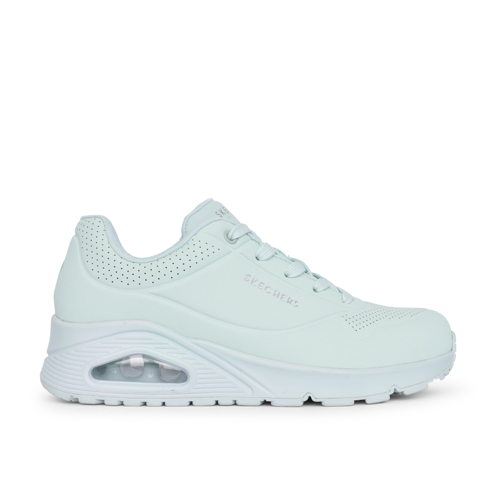 LADIES 155395 UNO FROSTY KICKS LACE UP TRAINER in MINT