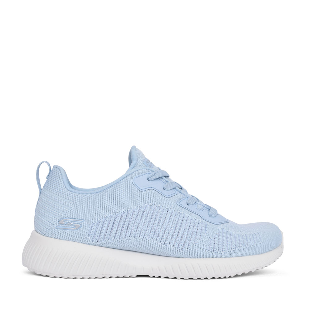 LADIES 117067 BOBS SQUAD LACE UP TRAINER in BLUE