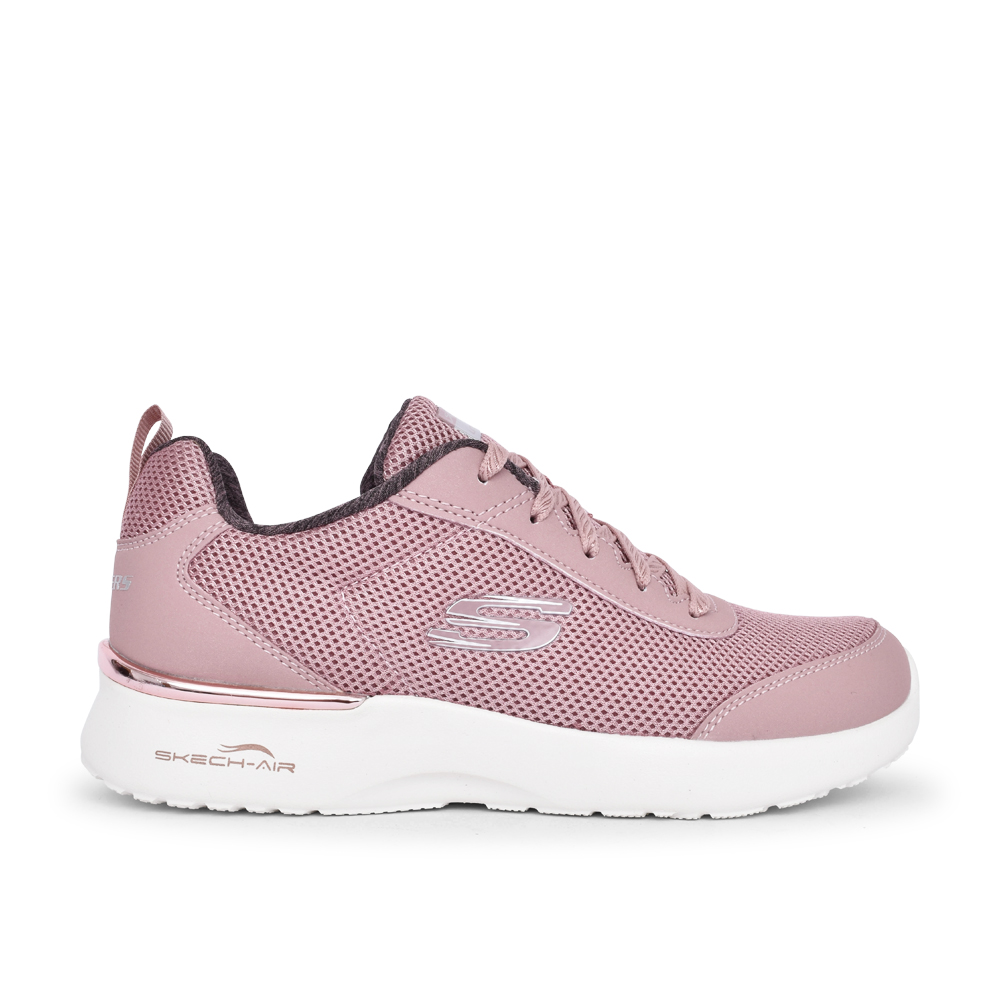 LADIES SKECH AIR DYNAMIGHT FAST BRAK TRAINER in MAUVE
