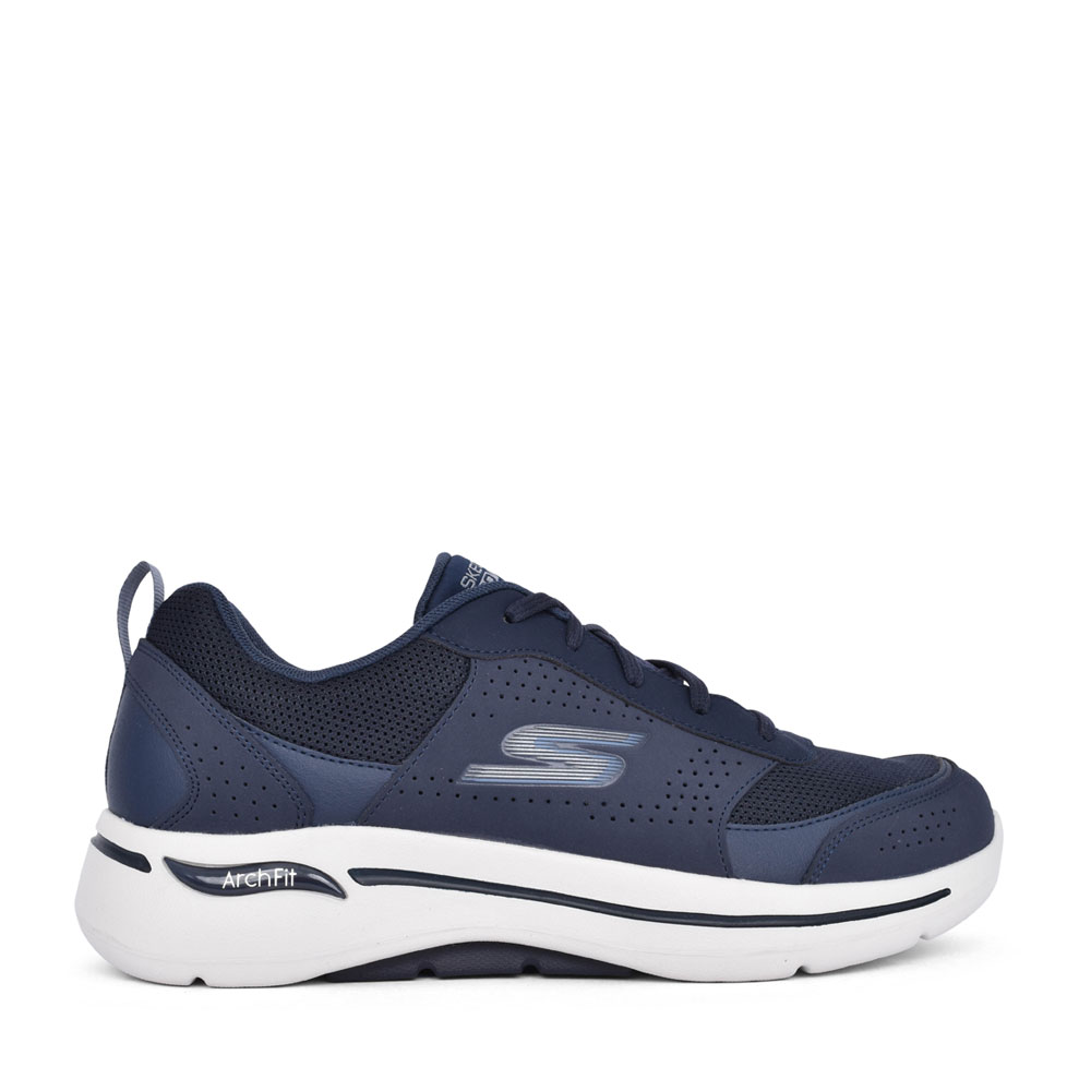 MENS 216122 GO WALK ARCH FIT TRAINER in NAVY