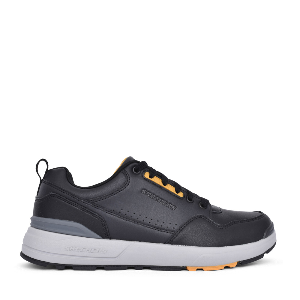 MEN'S 210262 ROZIER LACE UP TRAINER in BLACK
