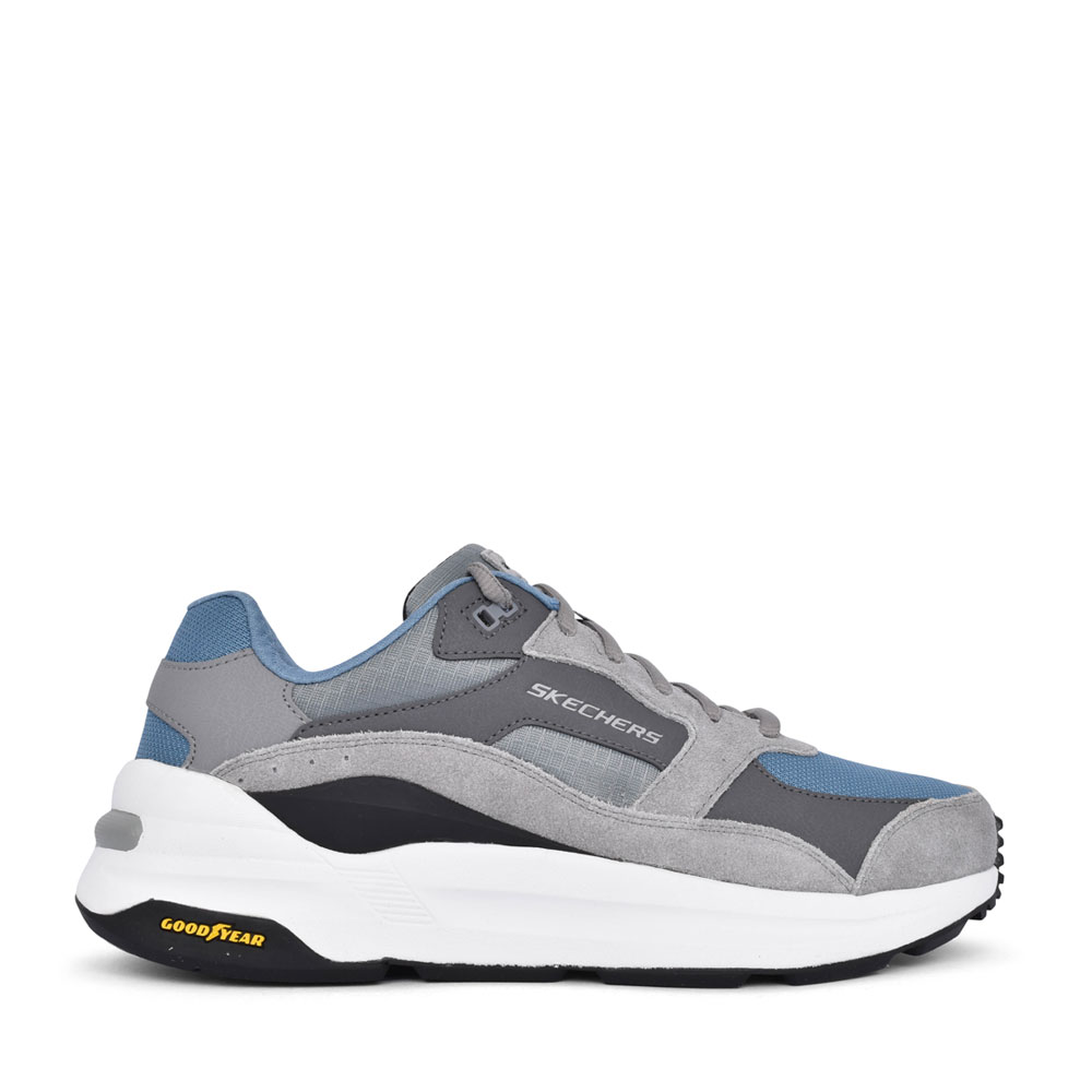 MENS 237200 GLOBAL JOGGER LACE UP TRAINER in GREY