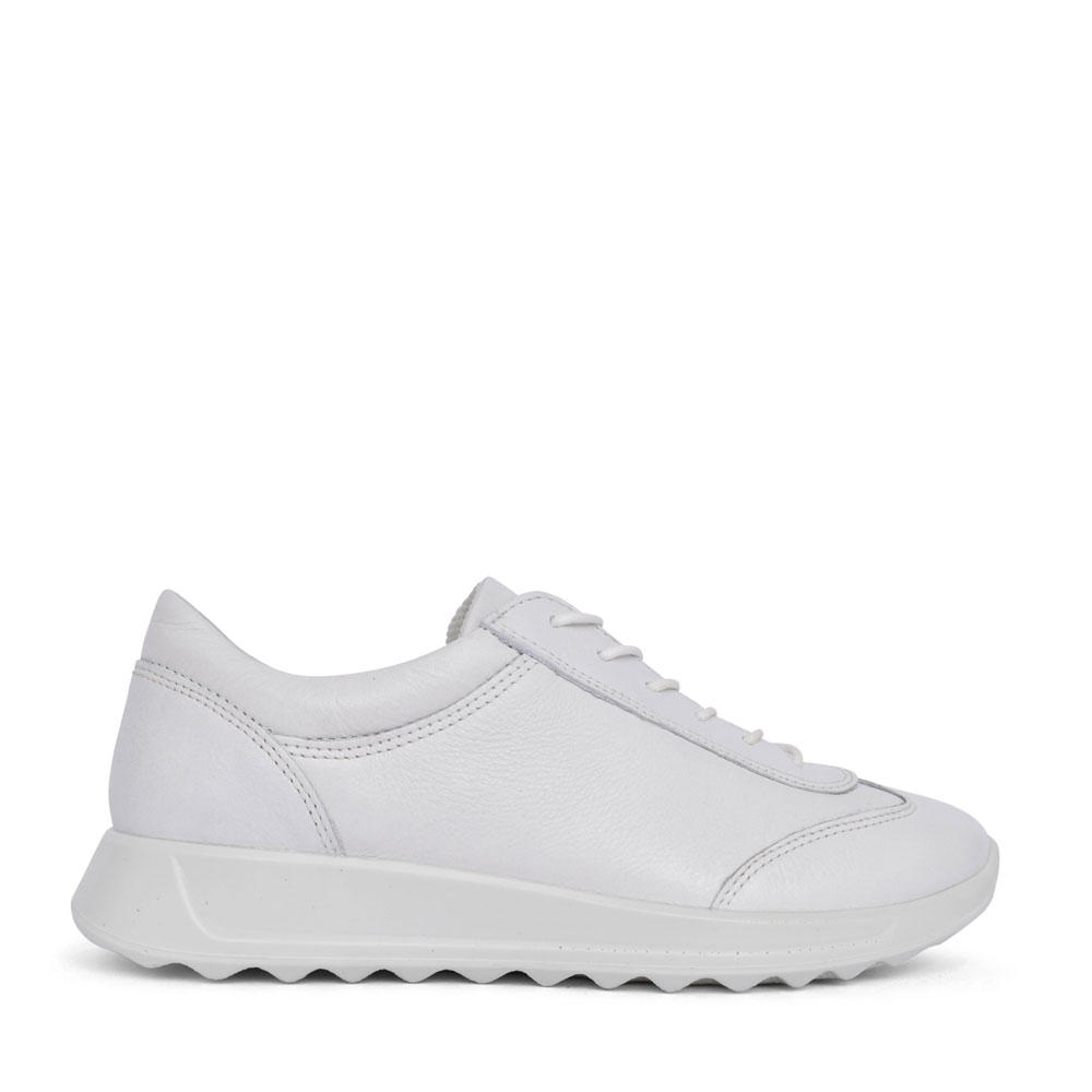 LADIES 292333 FLEXURE LACE UP SHOE in WHITE