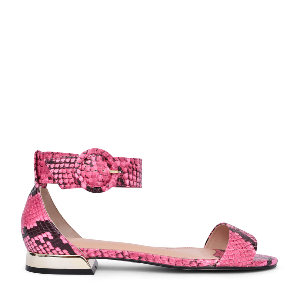 LADIES NIVELLA CLOSED HEEL SANDAL in PINK