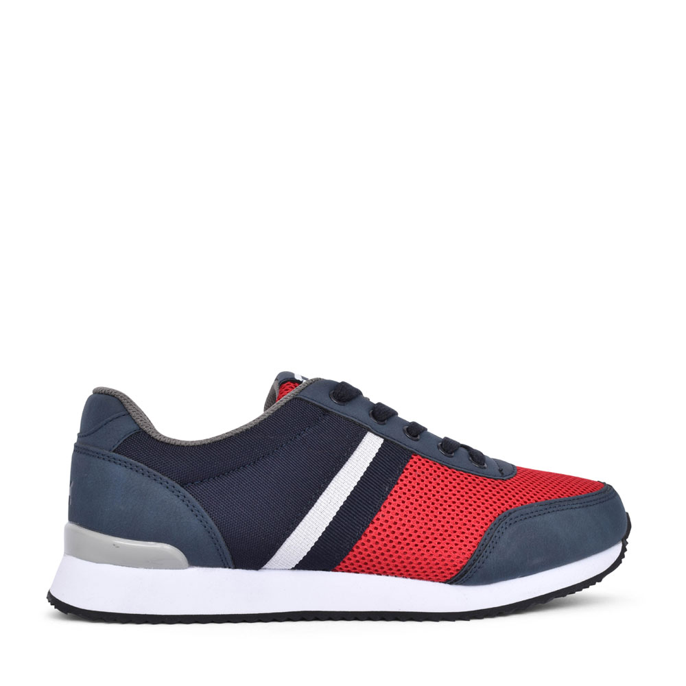 MENS DARWIN LACE UP TRAINER in BLUE