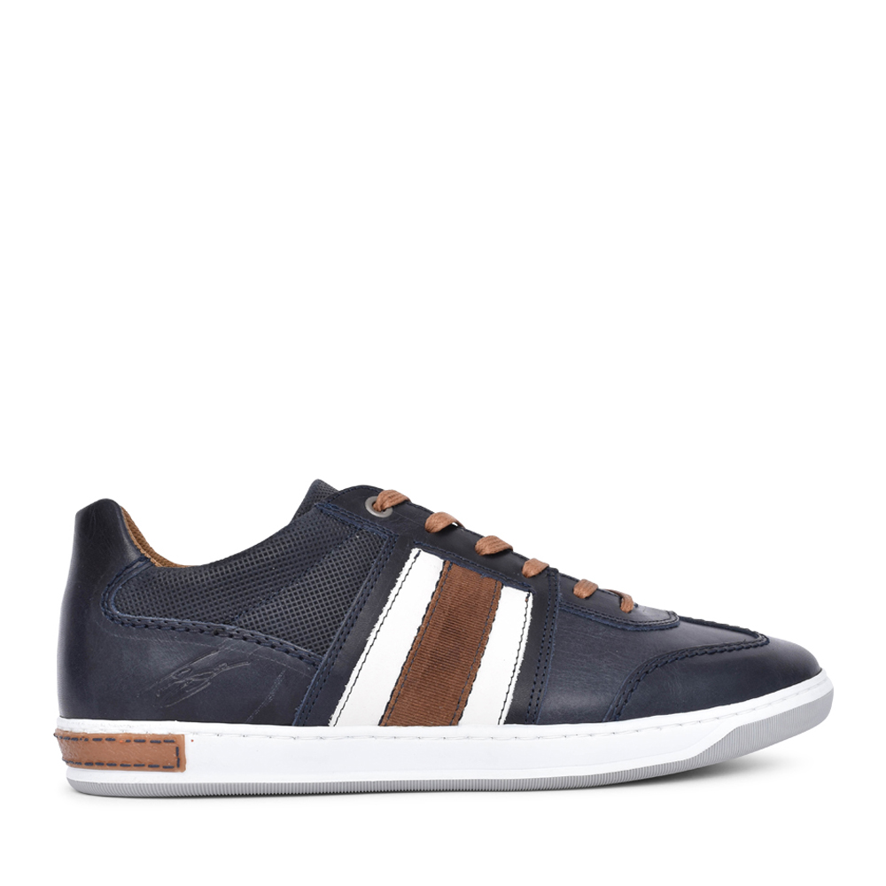 MENS ROUX LACE UP SHOE in NAVY