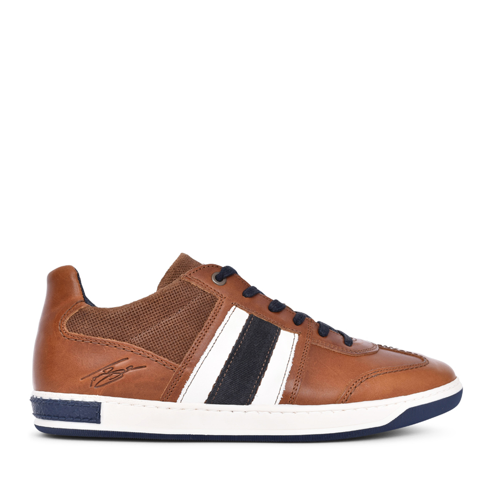 MENS ROUX LACE UP SHOE in TAN