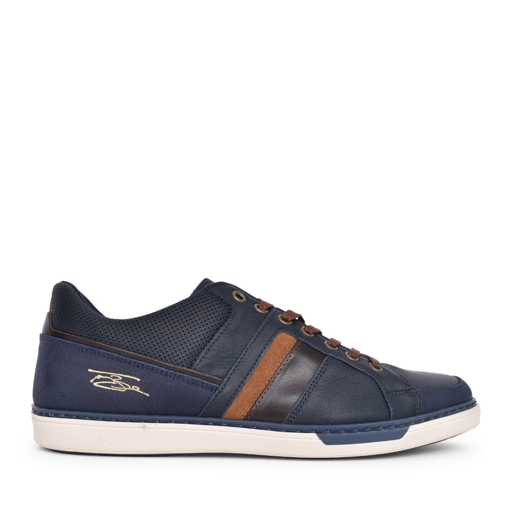 MENS FRANKS LACE UP SHOE in NAVY
