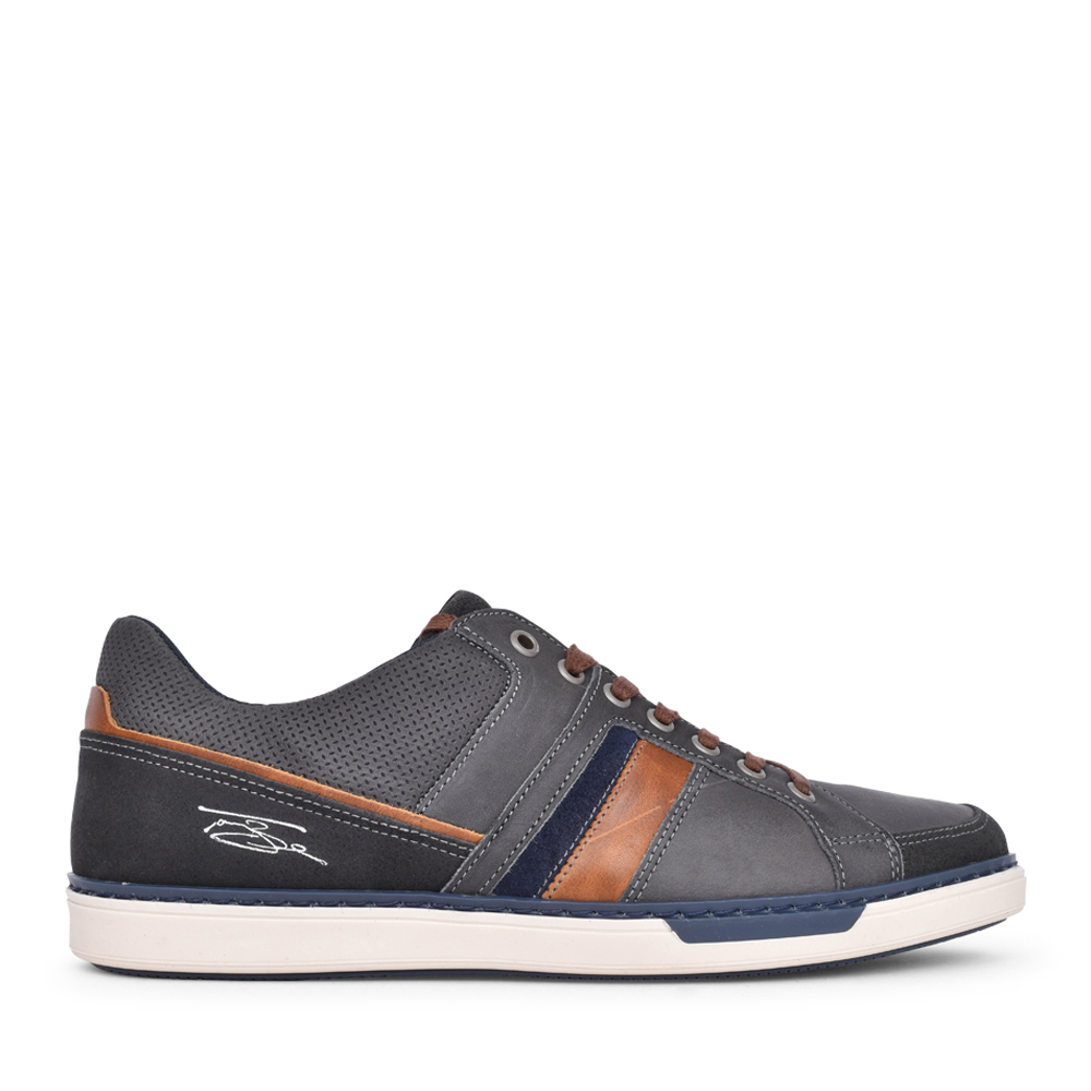 MENS FRANKS LACE UP SHOE in GREY