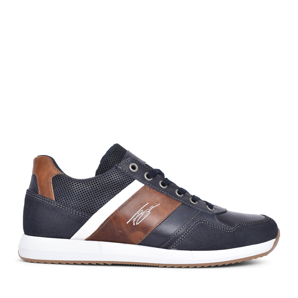 MENS TONER LACE UP SHOE in NAVY