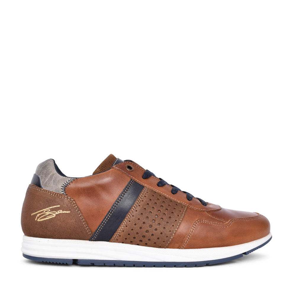 MENS VARLEY LACE UP SHOE in TAN