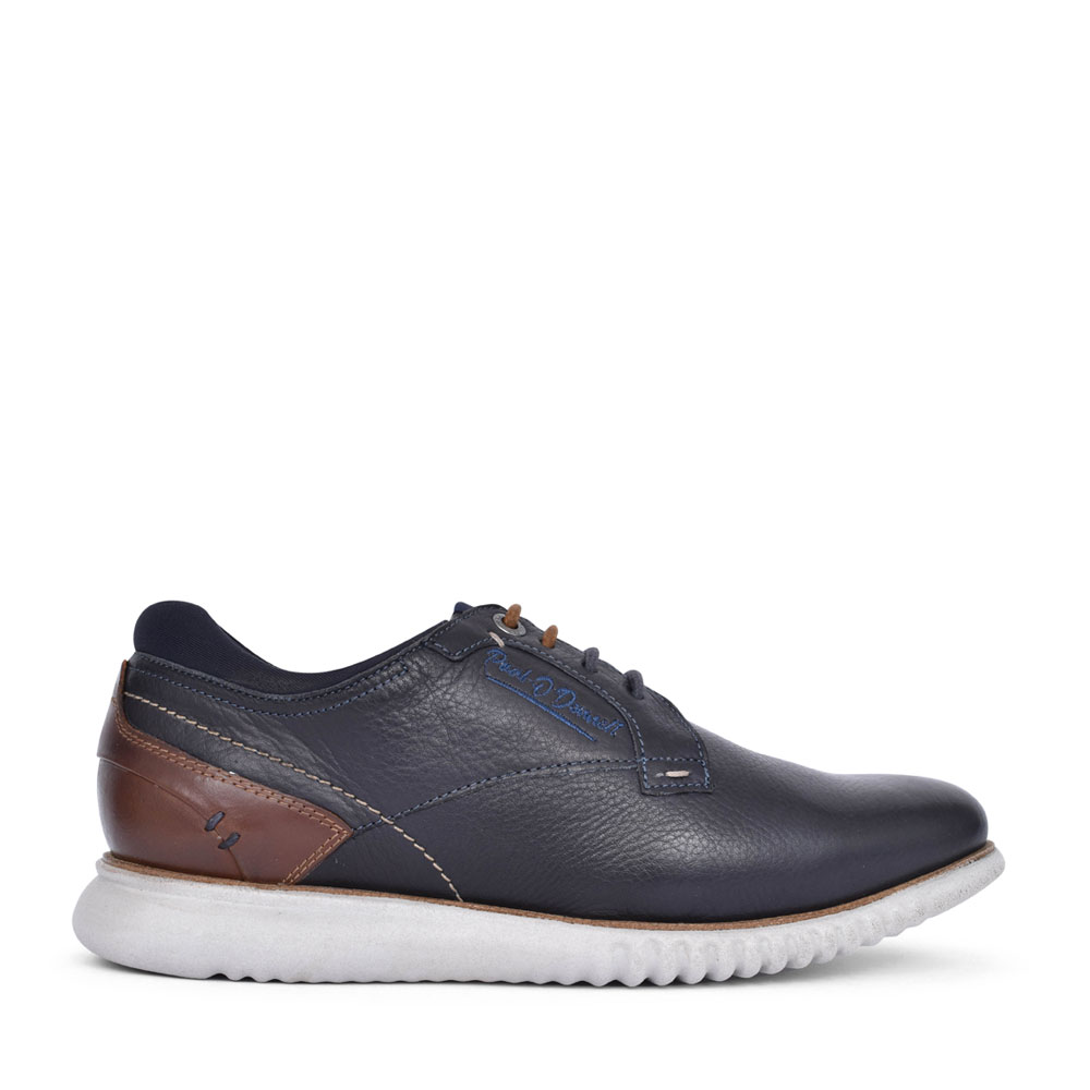 MENS CORVETTE LACE UP SHOE in NAVY