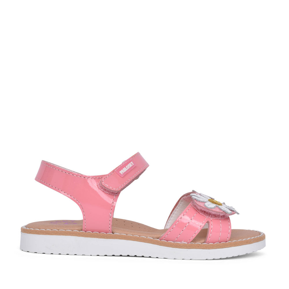 GIRLS 401879 VELCRO SANDAL in PINK