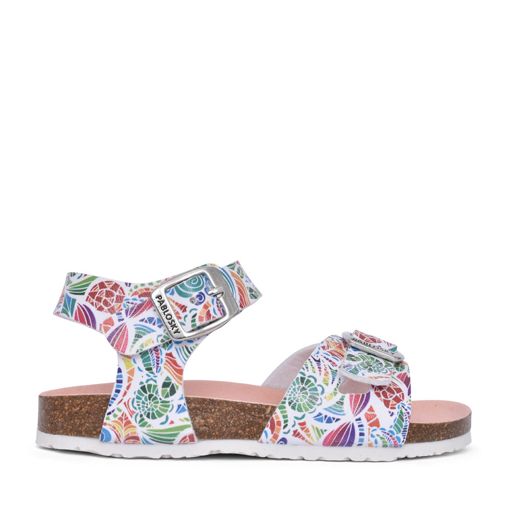 GIRLS 483300 FLAT SANDAL in FLORAL