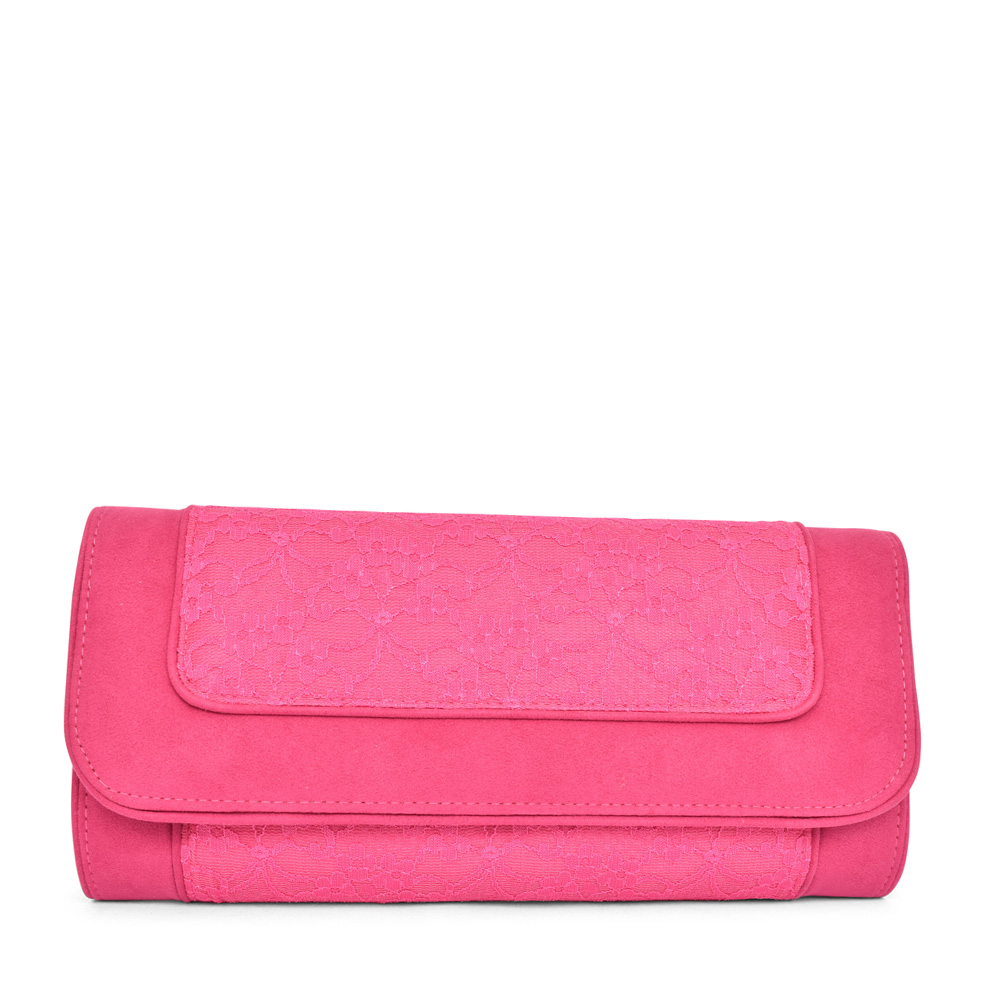LADIES TIRANA CLUTCH BAG in PINK