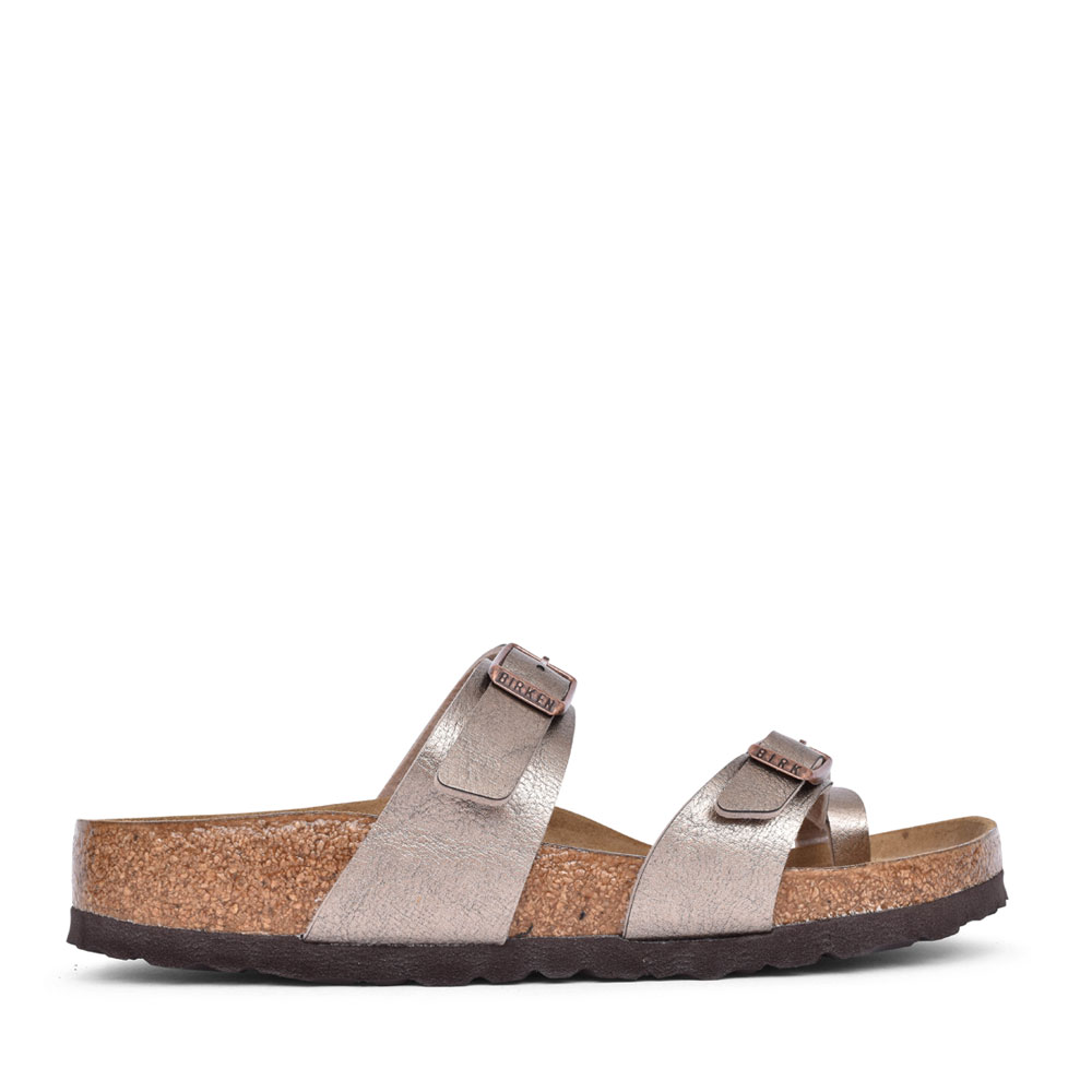 LADIES 1016409 MAYARI TOE POST MULE in TAUPE
