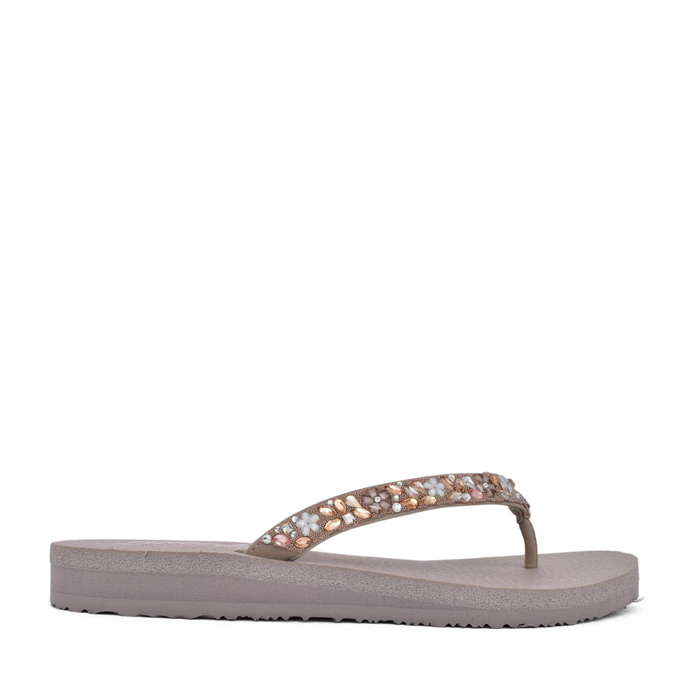 LADIES 119153 MEDITATION TOE POST  in TAUPE