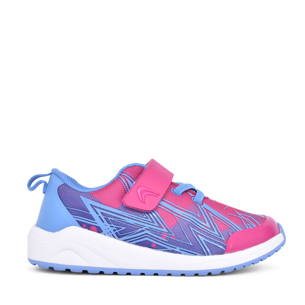 GIRLS AEON PACE PINK COMBI TRAINER in KIDS G FIT