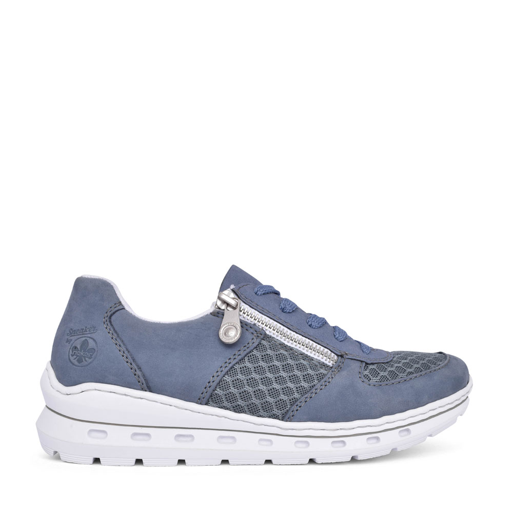 LADIES L2230 LACED SHOE in BLUE