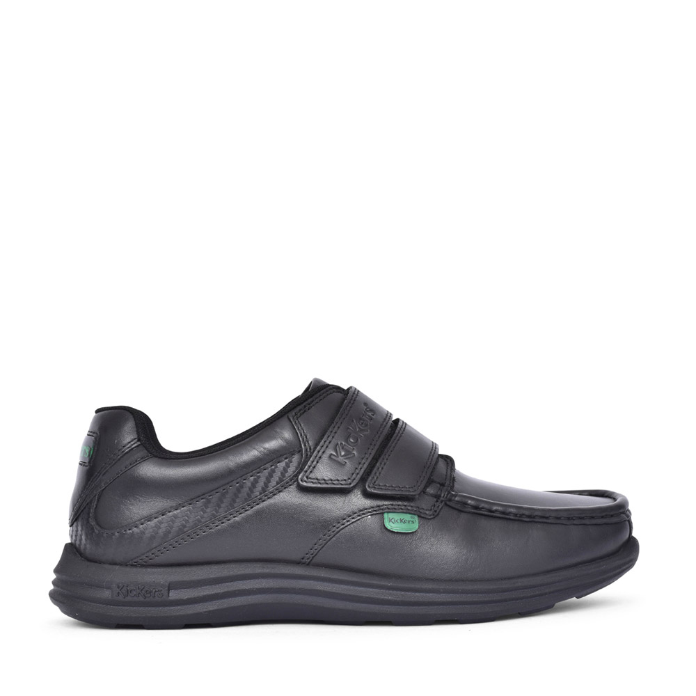 MENS REASAN ST AM LEATHER SHOE in BLACK