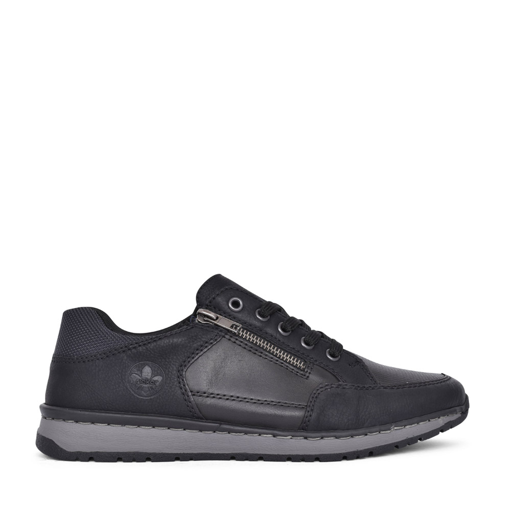MENS B5130 LACED SHOE in BLACK
