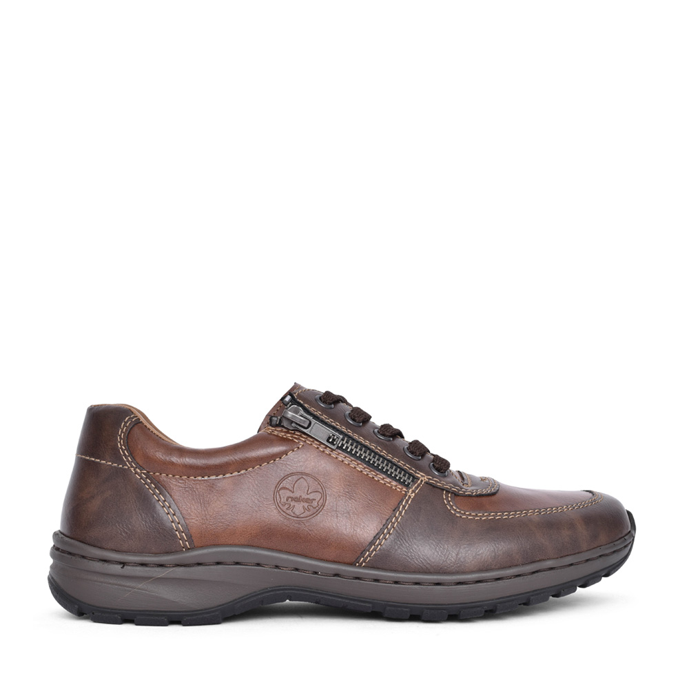 MEN'S 03329 LACED SHOE in BROWN