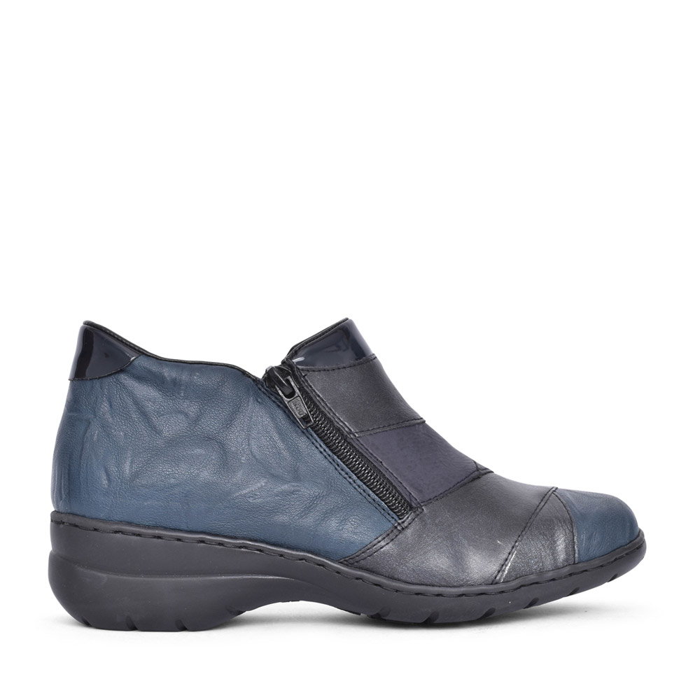LADIES L4373 ANKLE BOOT in NAVY