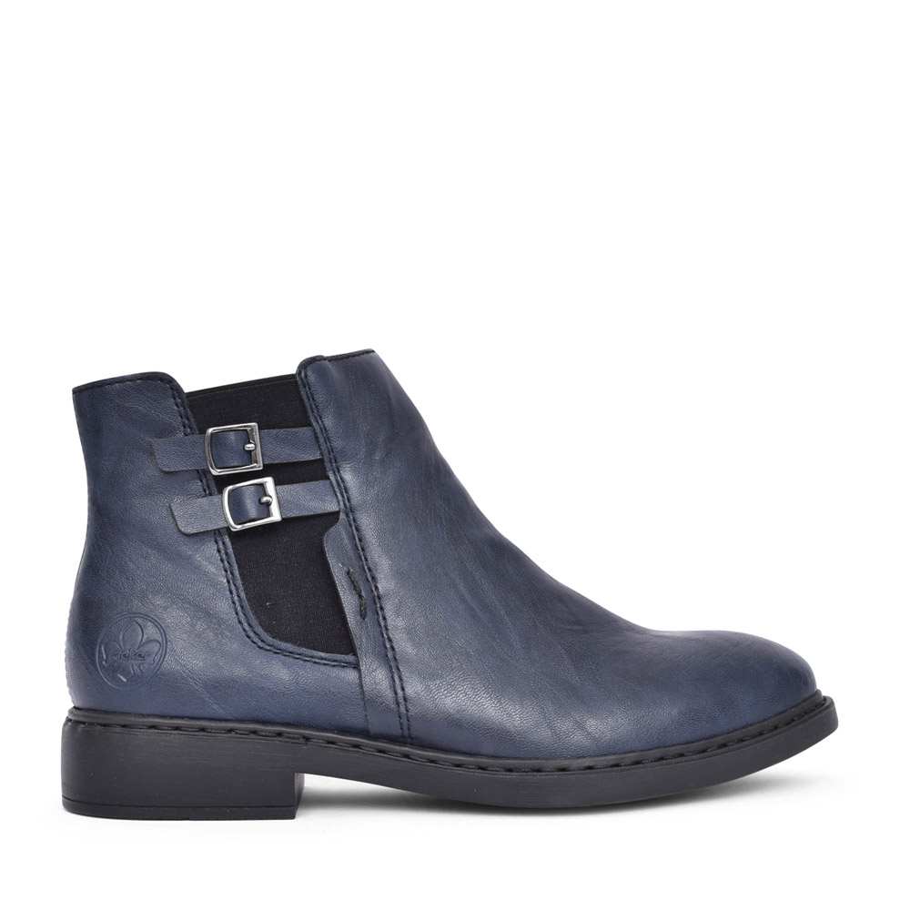 LADIES Z6170 ANKLE BOOT in NAVY