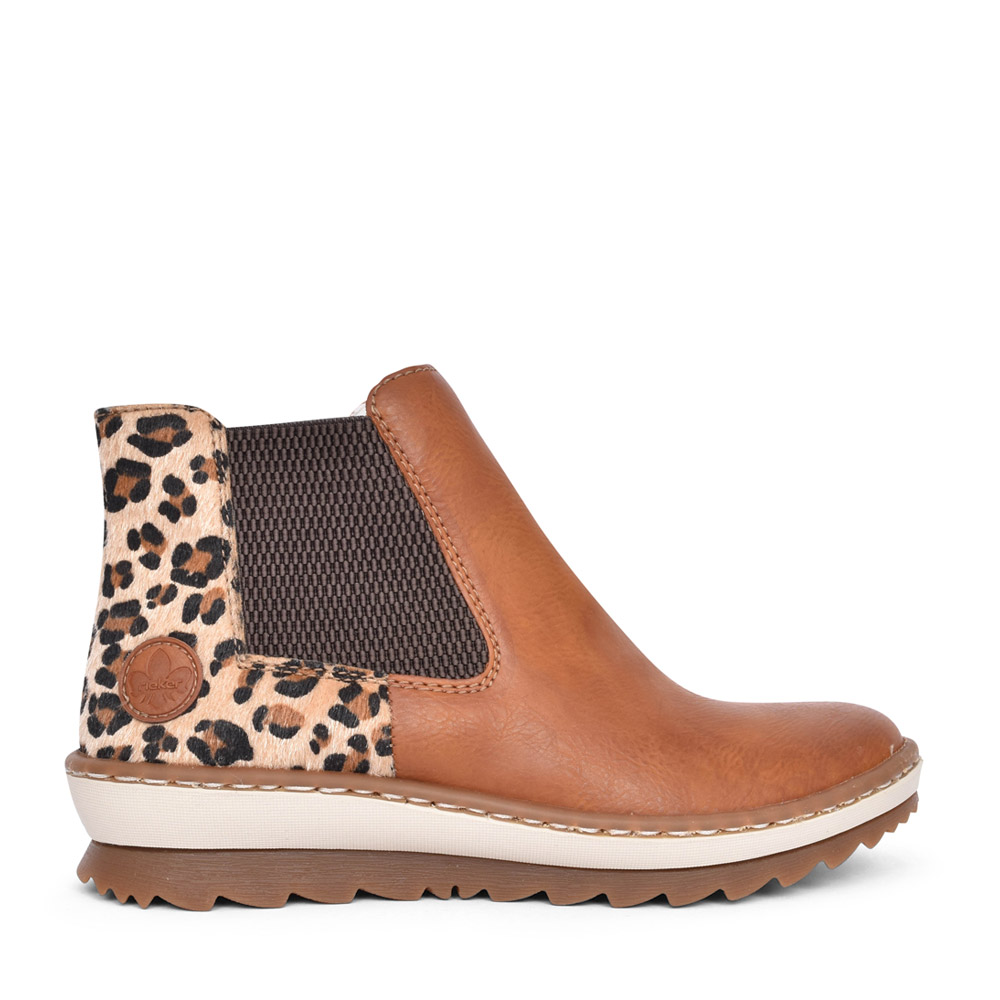 LADIES Z8689 ANKLE BOOT in TAN