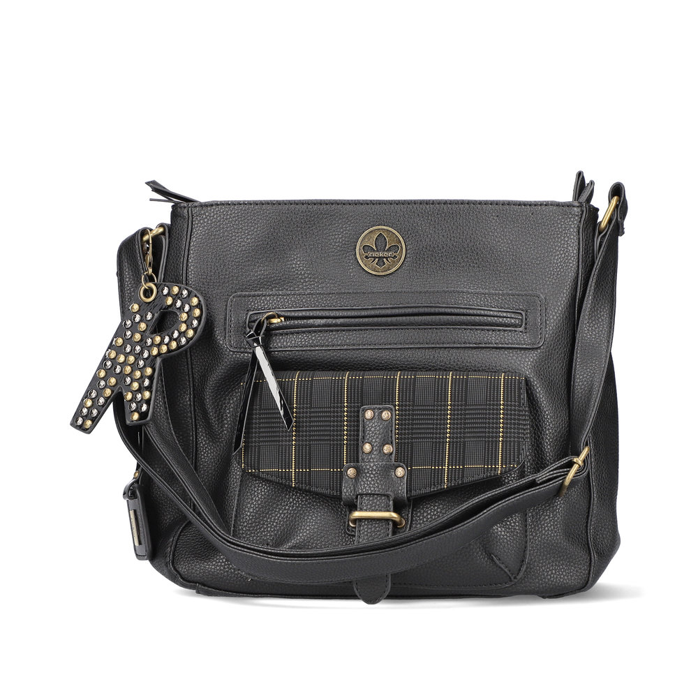 LADIES H1362 CROSSBODY BAG in BLACK