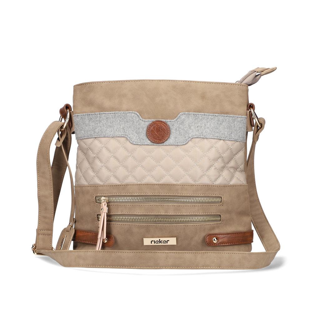 LADIES H1097 CROSSBODY BAG in BEIGE