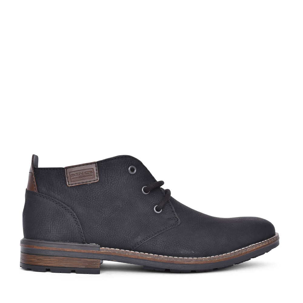 MENS B1340 LACED BOOT in BLACK
