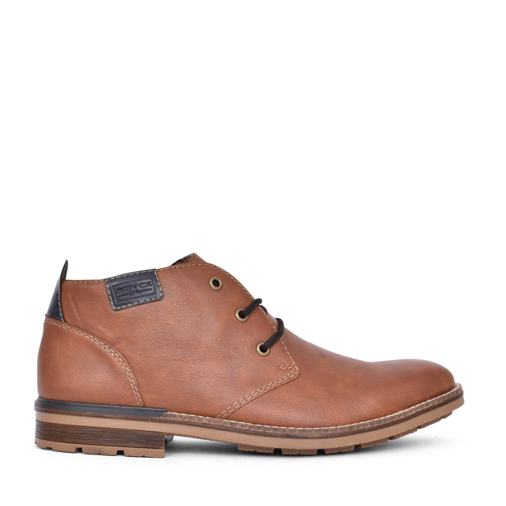 MENS B1340 LACED BOOT in TAN
